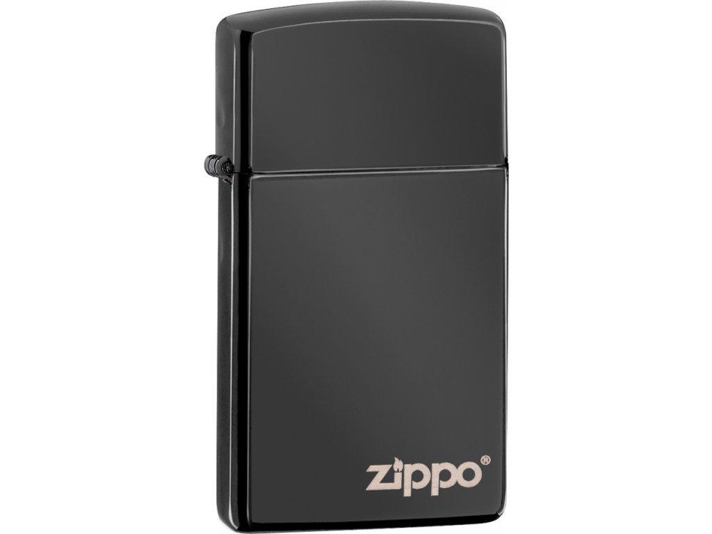 Zapalovač Zippo 26583 High Polish Black ZL Slim