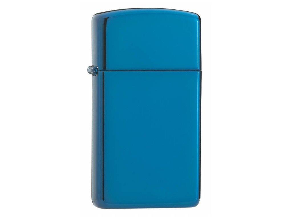 Zapalovač Zippo 27039 High Polish Blue Slim