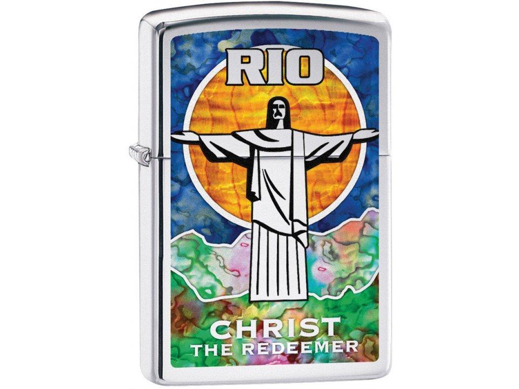 Zapalovač Zippo 22989 Christ the Redeemer