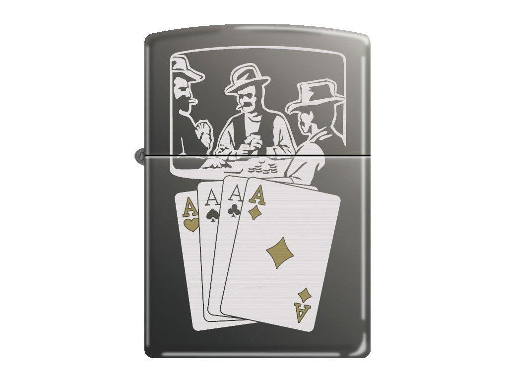 Zapalovač Zippo 25444 Vintage Cards