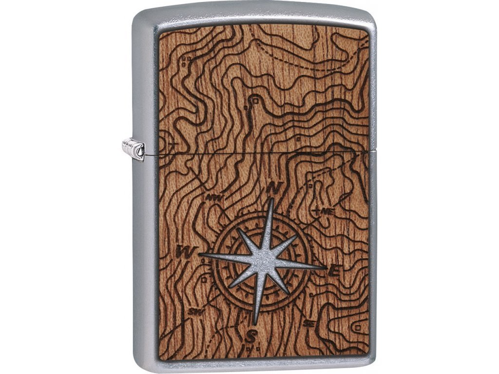 Zapalovač Zippo 25522 Woodchuck USA Compass
