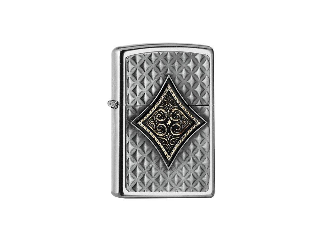 Zapalovač Zippo 25543 Diamond Emblem 3D
