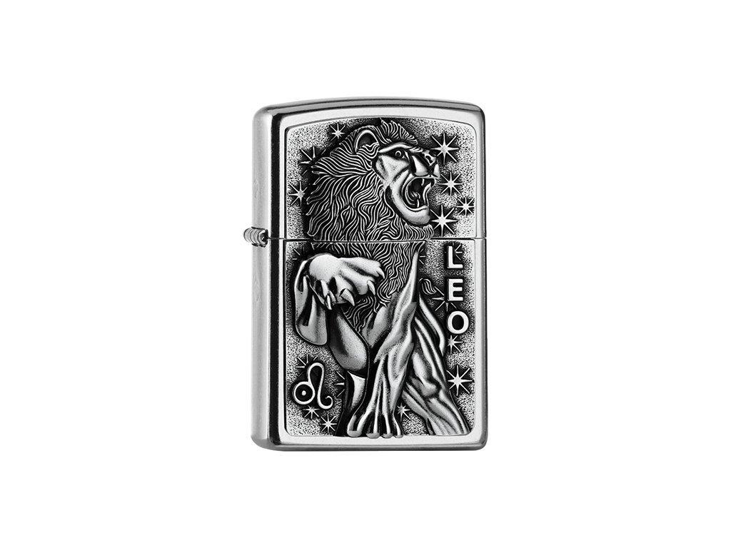 Zapalovač Zippo 25545 Leo Zodiac Emblem