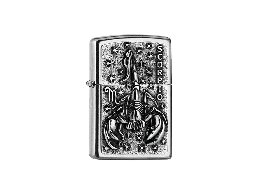 Zapalovač Zippo 25546 Scorpio Zodiac Emblem