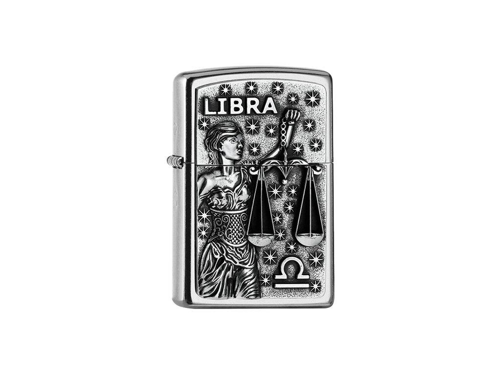 Zapalovač Zippo 25550 Libra Zodiac Emblem