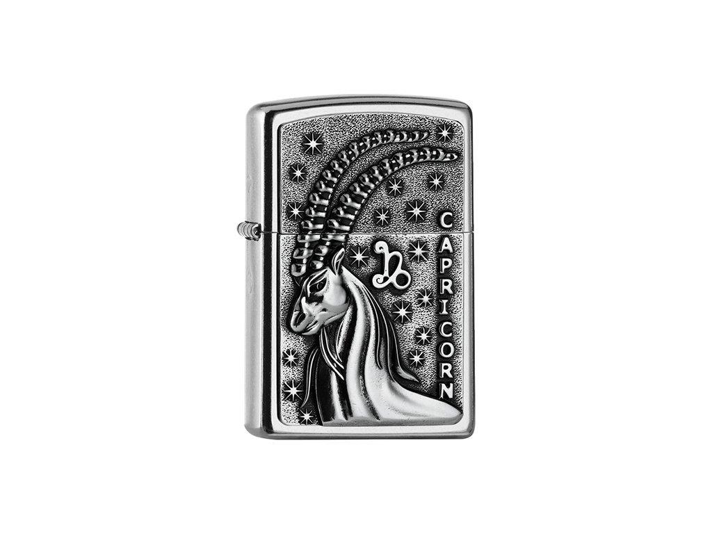 Zapalovač Zippo 25554 Capricorn Zodiac Emblem