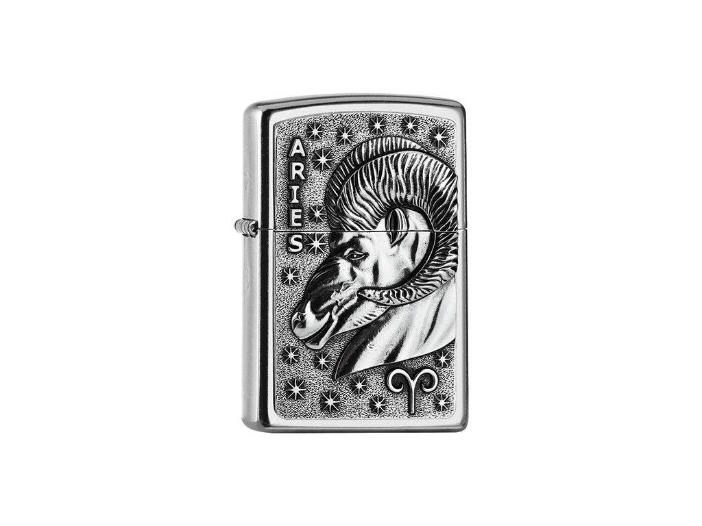 Zapalovač Zippo 25555 Aries Zodiac Emblem