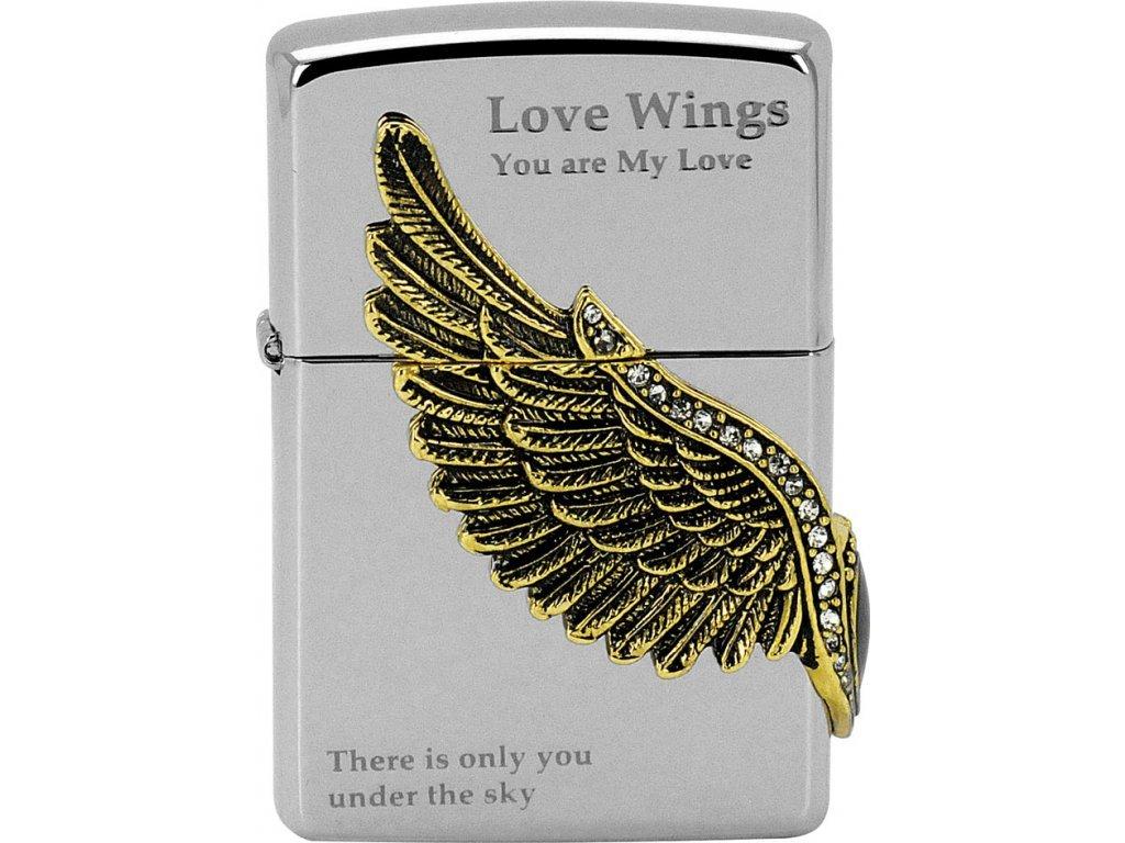 Zapalovač Zippo 28150 Love Wings