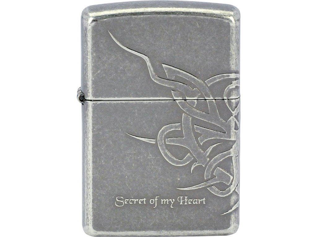 Zapalovač Zippo 28155 Secret of My Heart