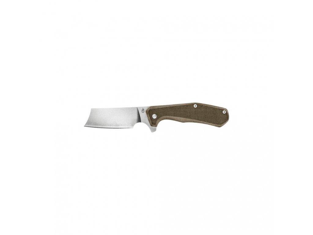 Zavírací nůž Asada, hladké ostří, Micarta, Gerber