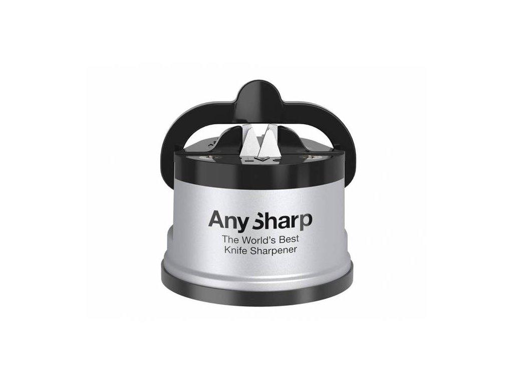 Brousek na nože AnySharp, stříbrný