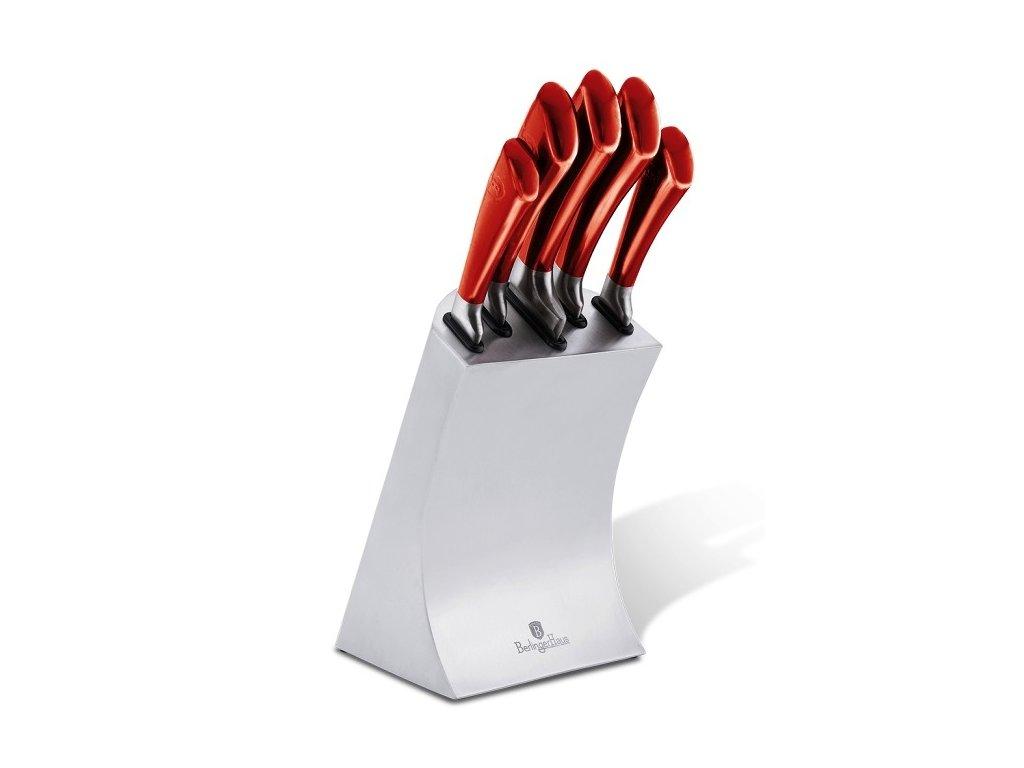 Sada nožů ve stojanu 6 ks nerez Burgundy Passion Collection  BERLINGERHAUS BH-2135