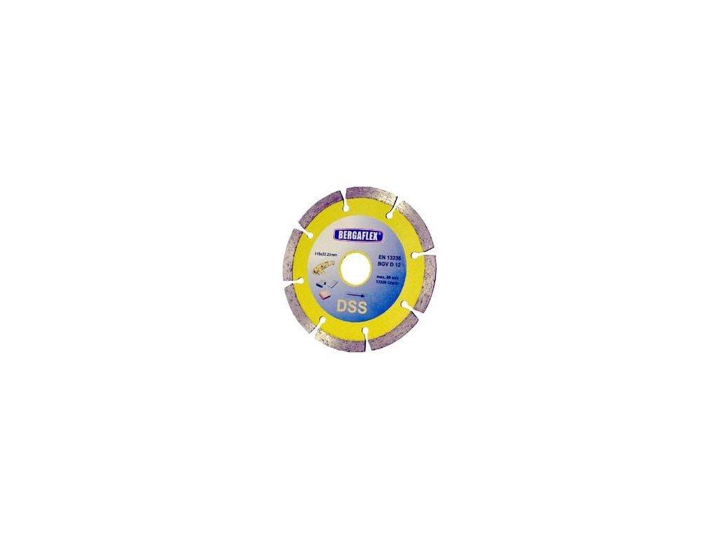 Kotouč řezný diamantový DSS 125x7x22,2 mm ERBA ER-4412538
