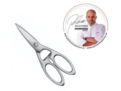Zwilling PS kuchyňské nůžky univerzální, nerezové