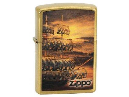 Zapalovač Zippo Pirate Ship 23060