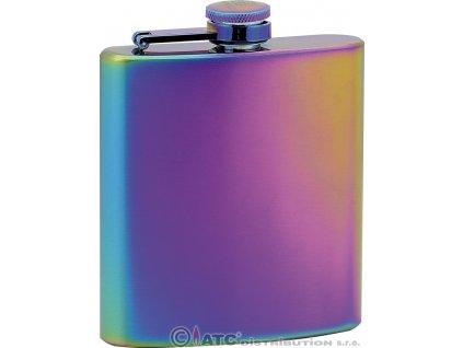 Kapesní ocelová nerezová láhev 97101