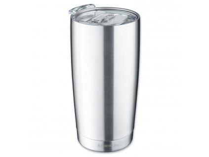 Designový termohrnek Isosteel,  0,6 l (VA-9583)