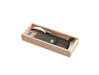 OPINEL VR N°08 Inox houbařský + pouzdro + box