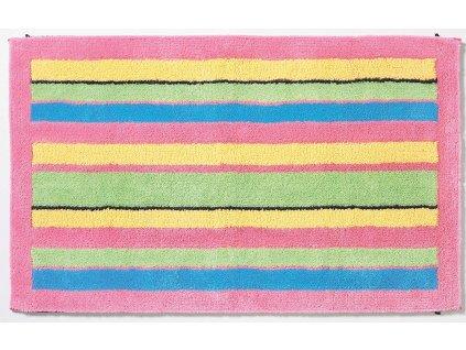 Rhomtuft pestrobarevný koupelnový koberec 60 x 100 cm