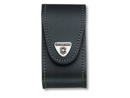 Černé kožené pouzdro na nůž 91mm (4.0521.3)