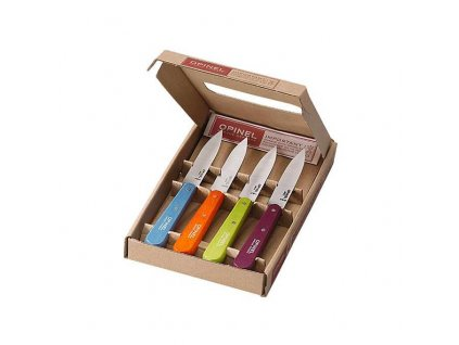 Opinel essential set Sweet Pop colours, 4 ks