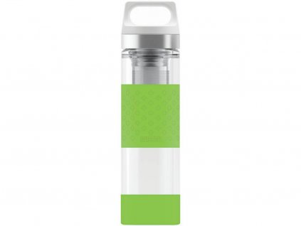 Termoska Sigg Hot & Cold Glass WMB 0,4 l, zelená