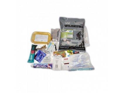 Vojenská potravinová dávka MRE, ARPOL WZ, Set 1 - Lasagne