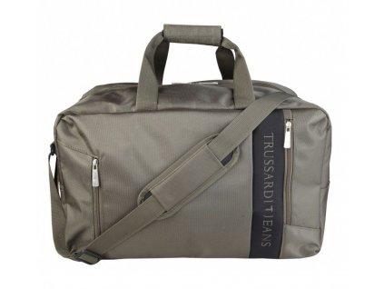 Cestovní taška Trussardi Jeans TJ71B963T/57, olivově zelená