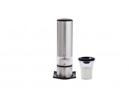 PEUGEOT ELIS elektrický mlýnek na sůl, 20 cm, nerez