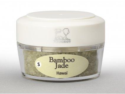 Zanzibar zásobník se solí s bamb. lístky 1ks