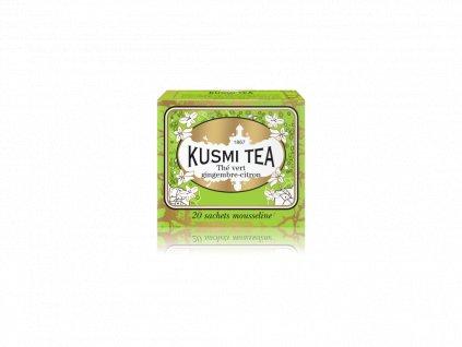 Kusmi Tea Green Ginger Lemon, 20 sáčků