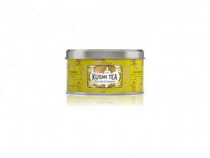 Kusmi Tea Almond Green Tea, plechovka 125g