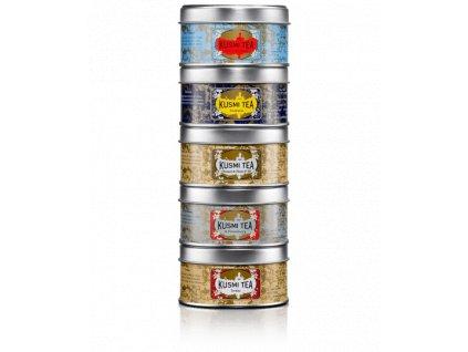 Kusmi Tea Russian Teas Selection, 5 x 25g