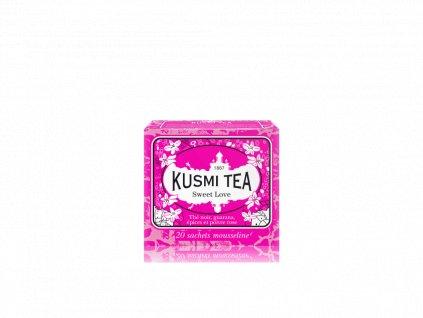 Kusmi Tea Sweet Love, 20 mušelínových sáčků 44g