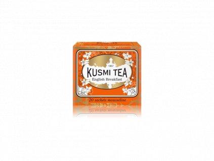 Kusmi Tea English Breakfast, 20 mušelínových sáčků