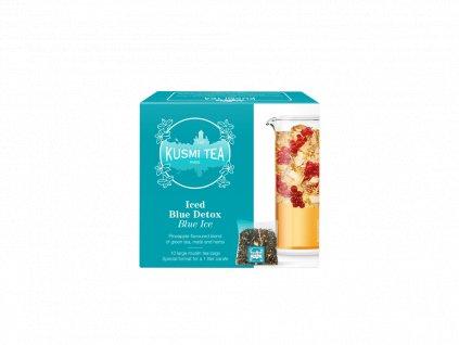 Kusmi Tea Blue Ice, 10 mušelínových sáčků