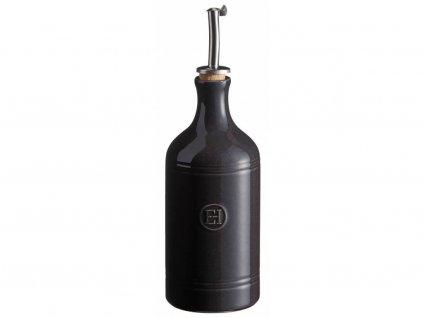 Dóza na olej Emile Henry, pepřová, 0,40 l / Ø 7,5 cm