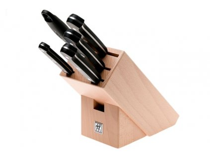 Zwilling Gourmet blok s noži 6 ks, buk
