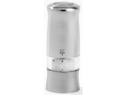 PEUGEOT ZELI el. mlýnek na sůl 14 cm matný chróm/ABS