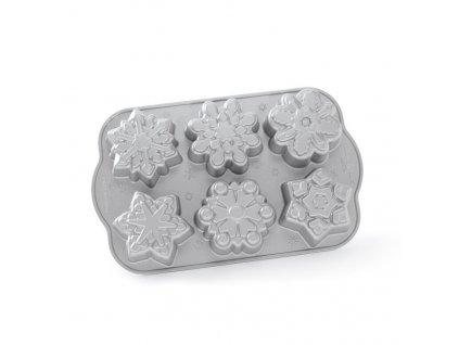 Forma na Minibábovky Sněhové vločky