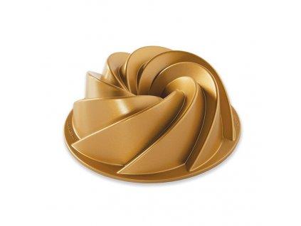 Forma na bábovku Heritage, zlatá, 1,4 l