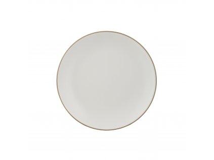 Classic krémový dezertní talíř, 20,5 cm