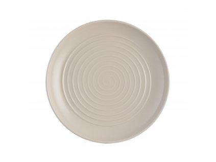 Spira taupe mělký talíř, 26,5 cm