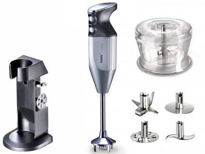 Bamix DeLuxe mixér 160 W, stříbrný