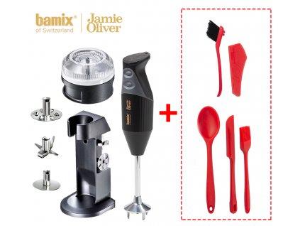 Set tyčový mixér Bamix Jamie Oliver + 5 ks praktických kuchyňských doplňků