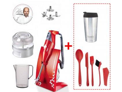 Set tyčový mixér Bamix + 6 ks praktických kuchyňských doplňků