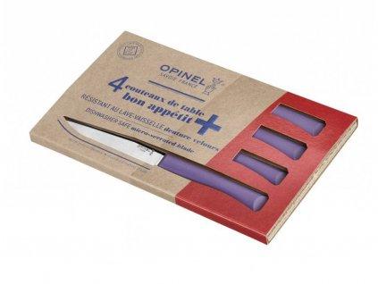 Opinel Bon Apetit příborové nože fialové (4 ks)