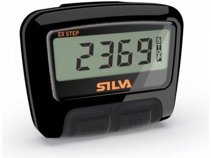 Krokoměr Silva EX STEP, černý