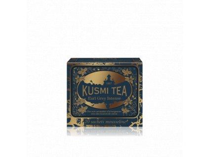 Kusmi Tea Earl Grey Intense, 20 mušelínových sáčků (44 g)