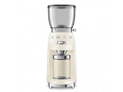SMEG 50's Retro Style mlýnek na kávu krémový